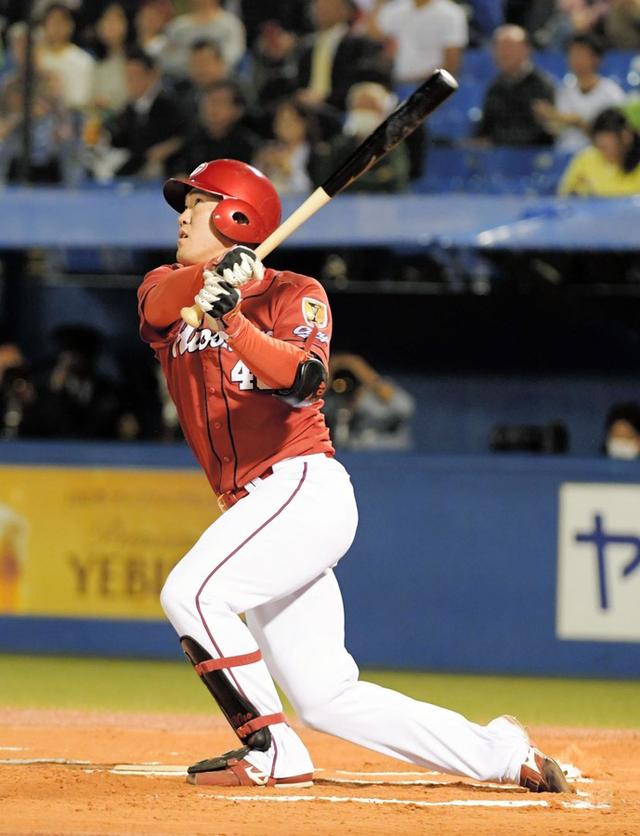 カープ1イニング3本塁打磯村嘉孝
