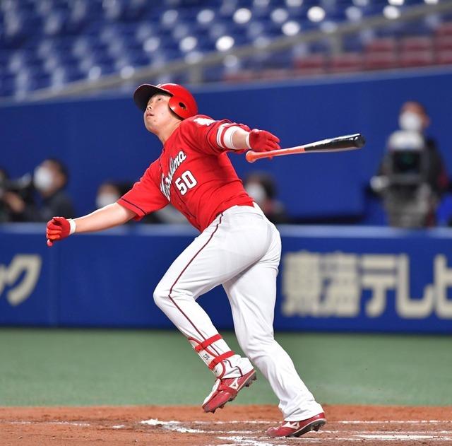 広島カープオープン戦チーム打率.328