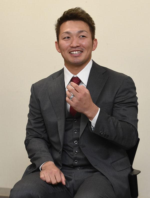 カープ鈴木誠也「メジャーは若い間に行きたい」