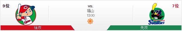 広島ヤクルト_オープン戦_福山
