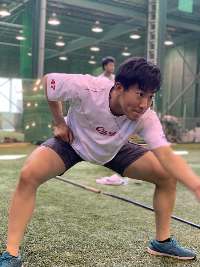 カープ3軍トレーニング (1)