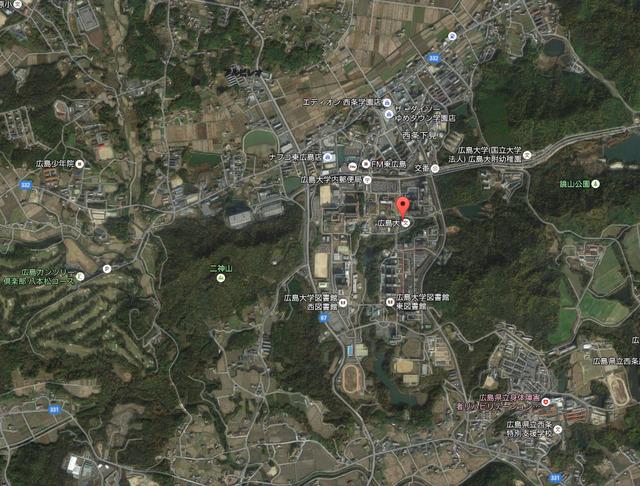 広島大学_東広島キャンパス_立地