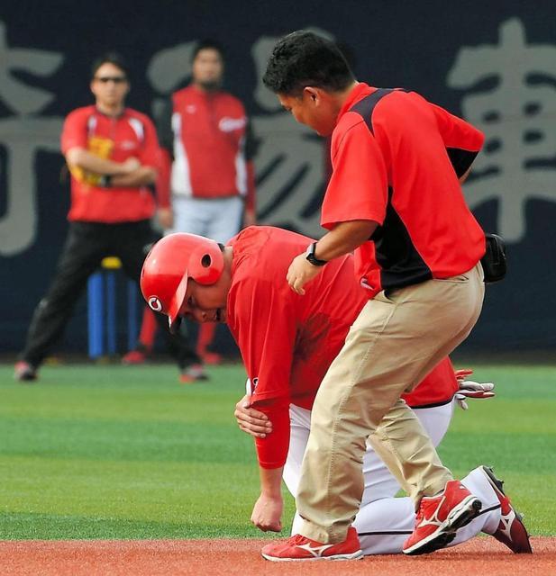新井貴浩打球直撃病院へ (5)