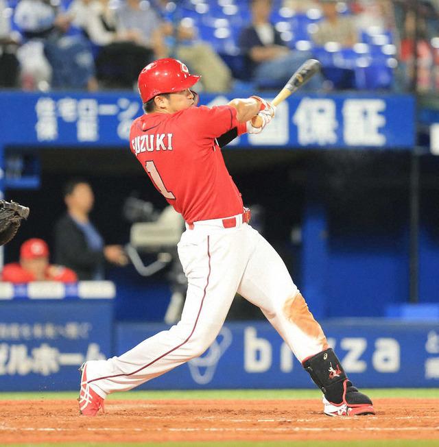 鈴木誠也初の首位打者ほぼ確定