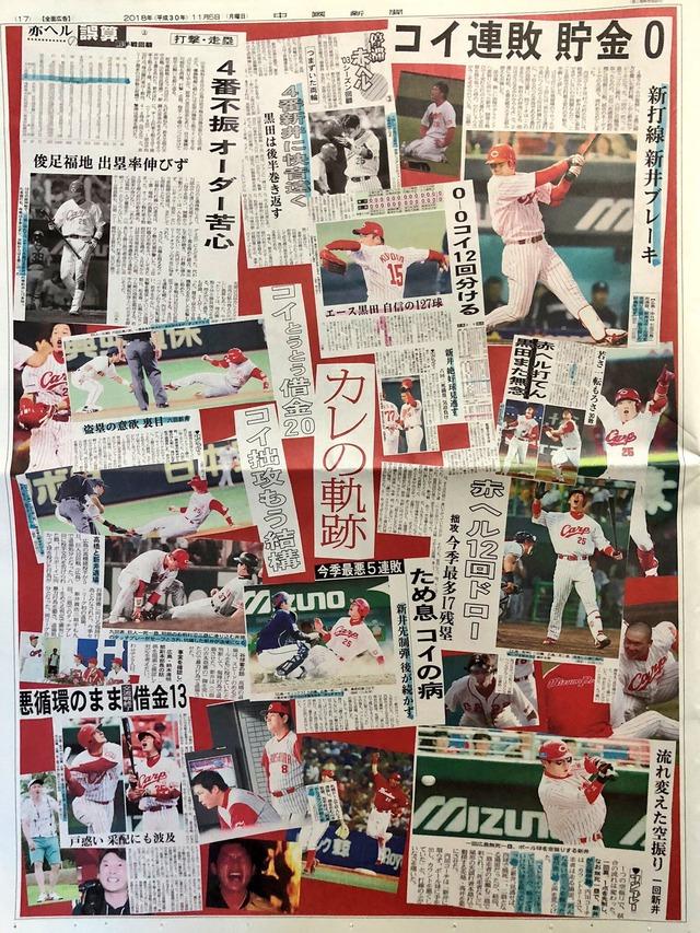 広島カープ黒田新井広告中国新聞_03