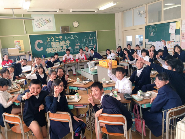 前田健太_小学校訪問