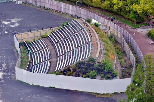 旧広島市民球場ライトスタンド