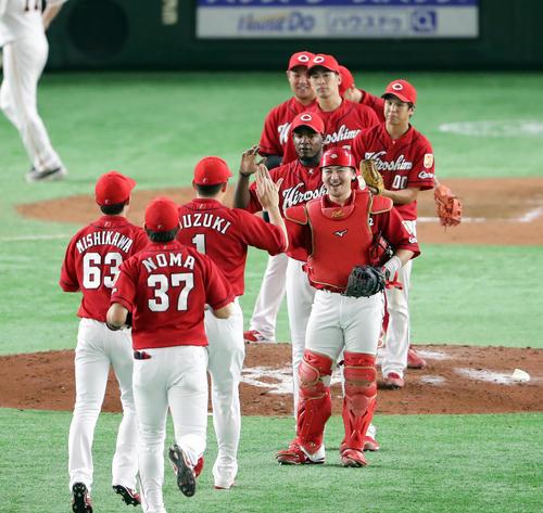 広島カープ巨人戦5年連続勝ち越し