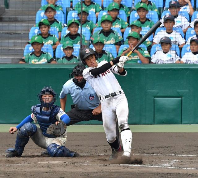 中村奨成甲子園決勝