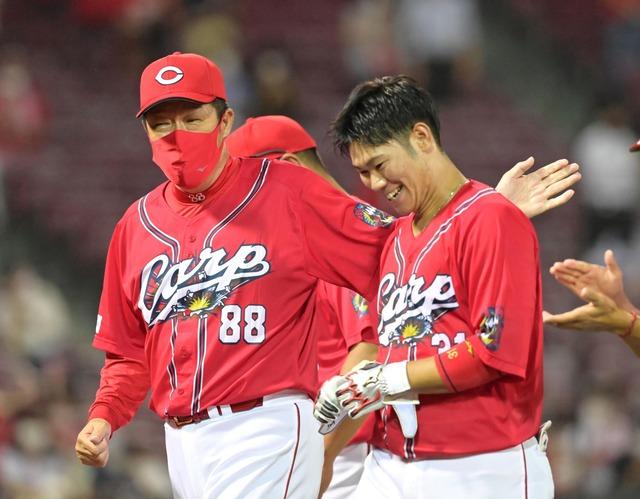 佐々岡監督「逆に言えば野球は怖いなと感じた試合」