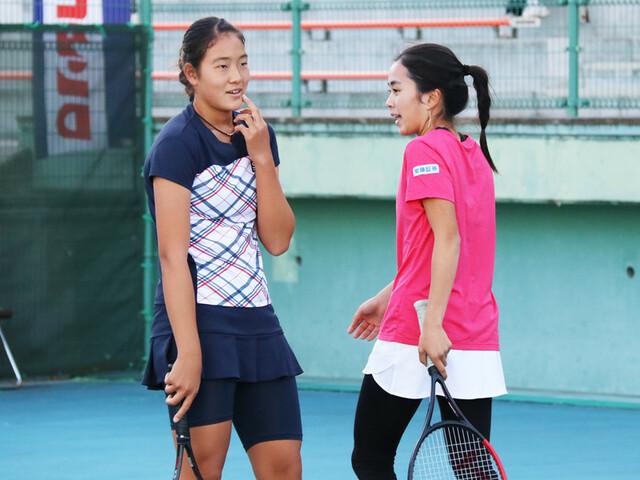石井琢朗の娘×久保竜彦の娘がテニス・ダブルスでコンビを組んでいた