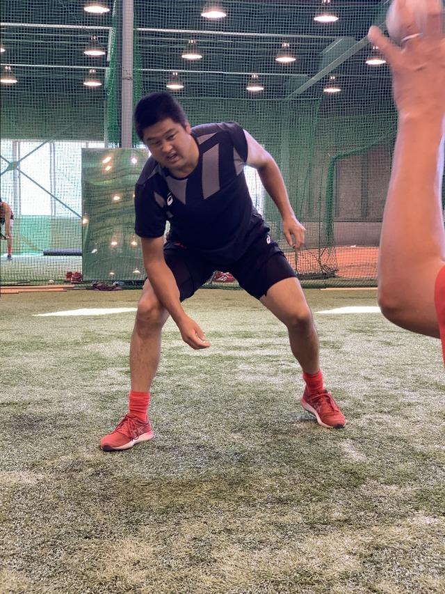 カープ3軍トレーニング (4)