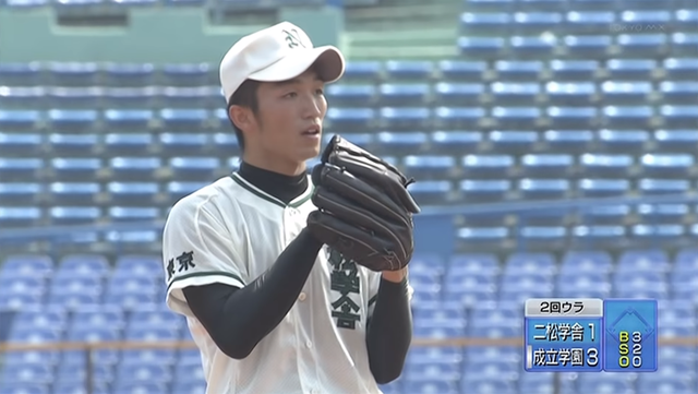 鈴木誠也高校野球投手08