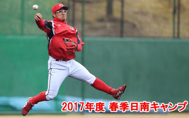 広島カープ_1番打者_田中広輔
