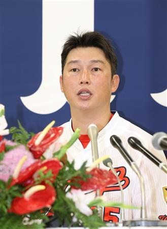 新井さん引退会見