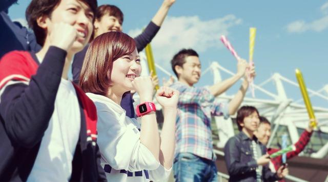 広島カープファン専用ウェアラブル端末「funband」 (2)