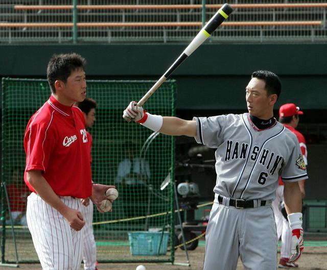 広島阪神に在籍した選手
