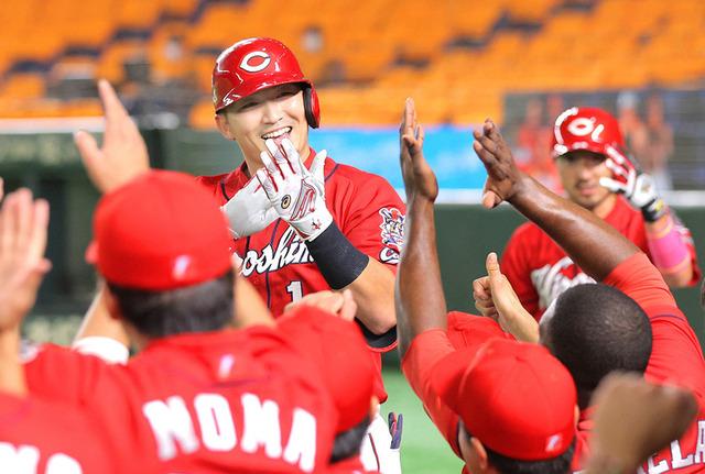 カープ鈴木誠也、シーズン72本168打点ペース