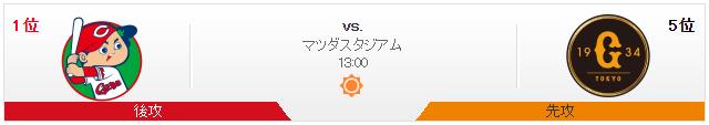 広島巨人_オープン戦