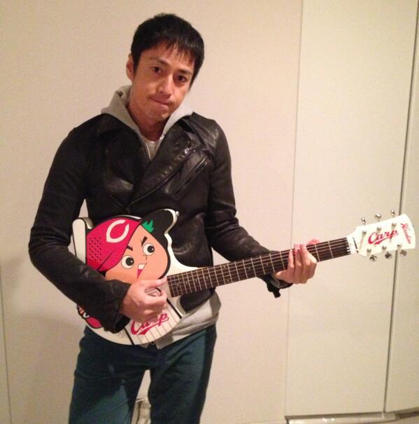 チュートリアル徳井カープギター