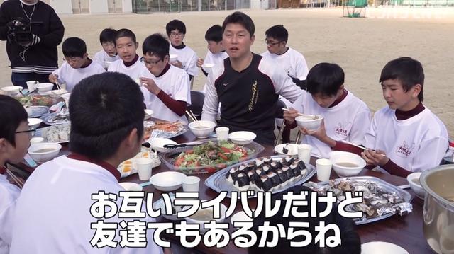新井貴浩_離島中学生野球部_熱血指導