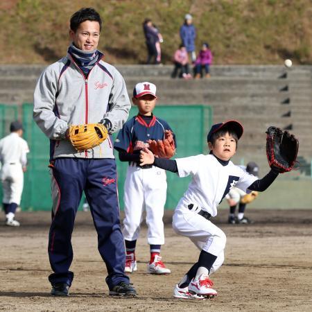 上本兄広陵高校野球教室