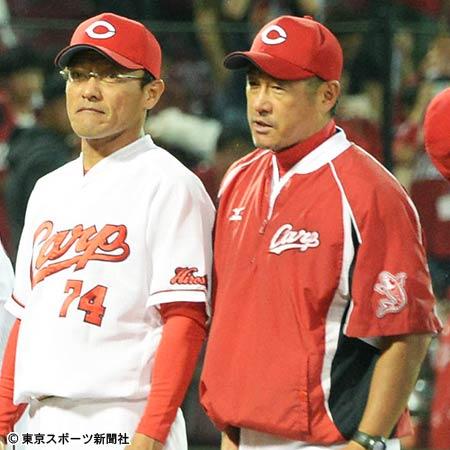 石井コーチ河田コーチ会見