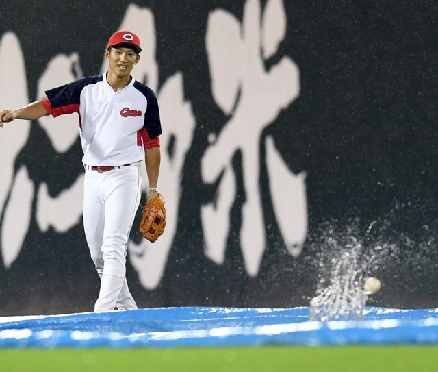 広島カープ雨天強行対策