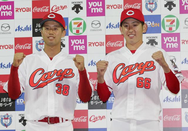 カープドラ2宇草孔基、打率.600 出塁率.800 PS1.550 2盗塁