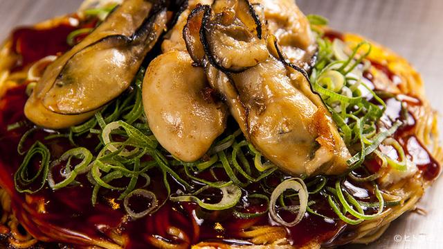 広島風お好み焼き牡蠣