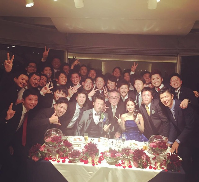 大瀬良大地_結婚式