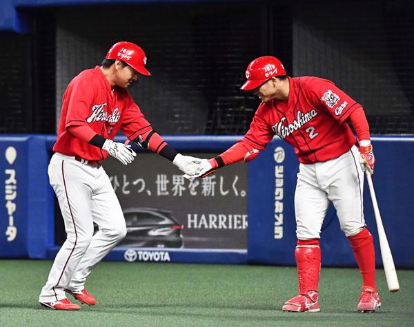 カープ長野久義150号本塁打達成