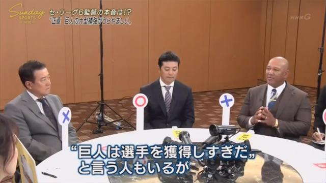 セリーグ6球団監督_座談会_NHK_29