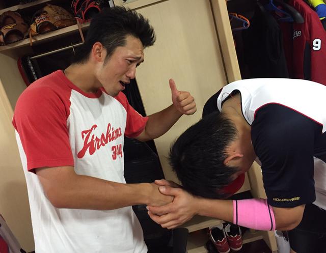 鈴木誠也交流戦首位打者2