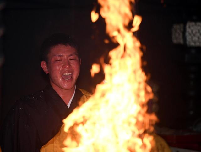 堂林翔太護摩行2020年
