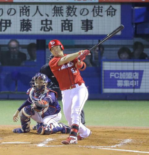鈴木誠也満塁ホームラン