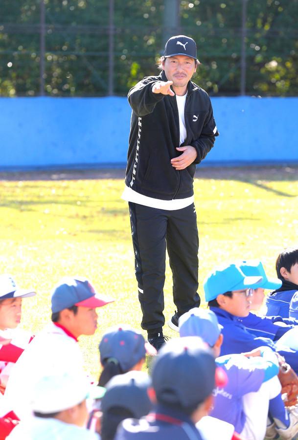 長野久義_日産自動車_野球教室
