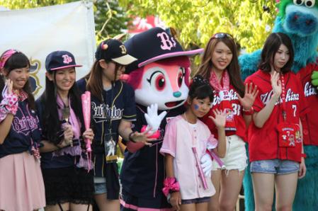 オリ姫カープ女子ファッションショー対決