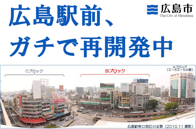 広島駅前_再開発