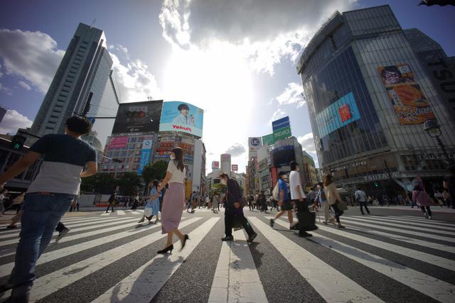 5月24日の渋谷の様子