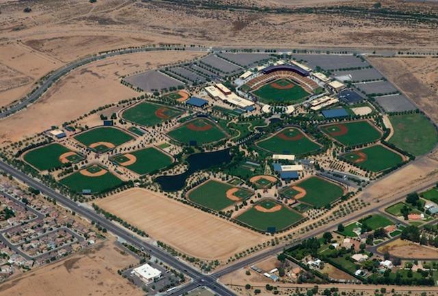 MLBアリゾナに全球団集めて公式戦開催検討