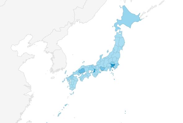 カープまとめサイト都道府県アクセスランキング2020年
