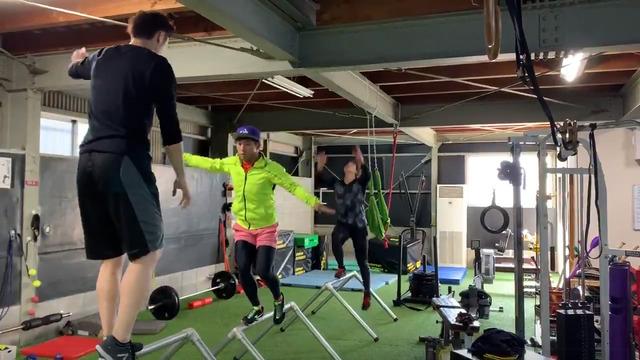 羽月隆太郎パルクール系のトレーニング