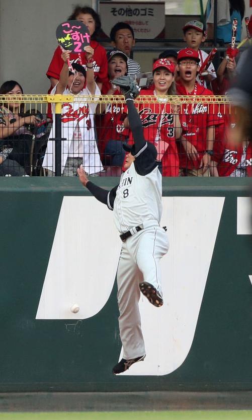 田中広輔消えた2塁打