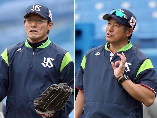 河田コーチ緒方監督
