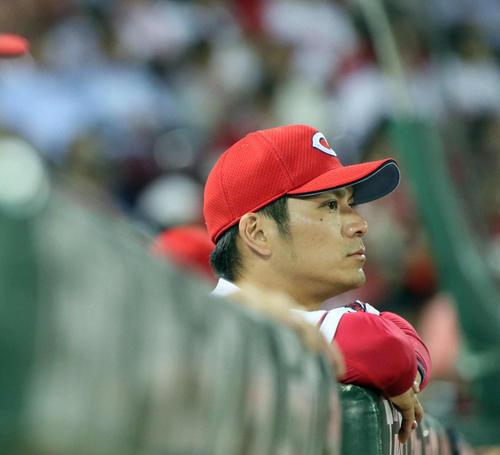田中広輔連続フルイニング出場記録ストップ