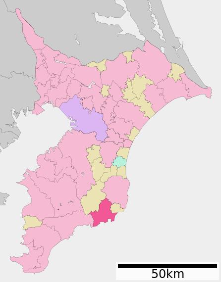 丸千葉県地図_勝浦市