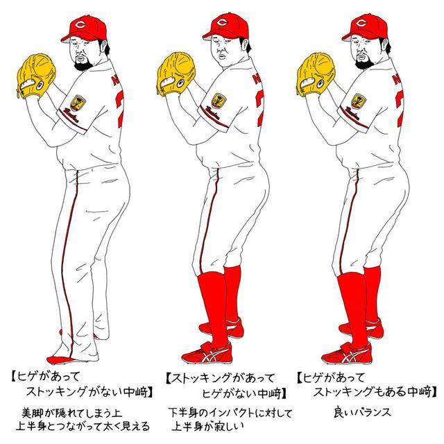 中崎翔太ストッキング考察