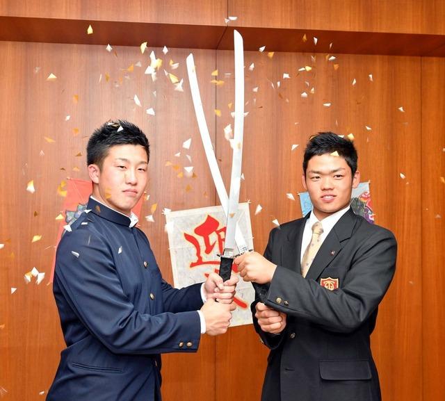 小園根尾新春対談2018 (2)