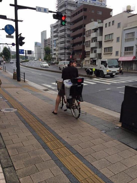 エルドレッド_自転車_広島市内